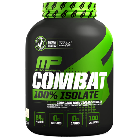 MusclePharm - Combat 100 Isolate - 1