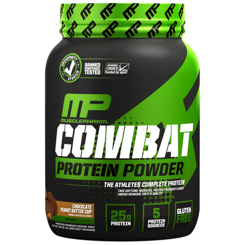 MusclePharm - Combat Protein Powder - 1
