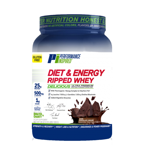 Performance Inspired - Diet & Energy Ripped Whey Protein - 1