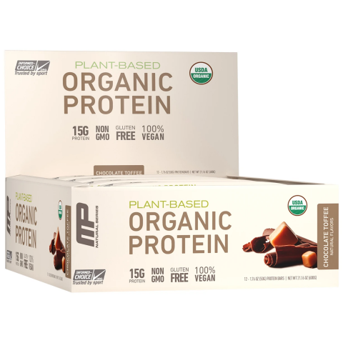 Musclepharm - Organic Protein Bar