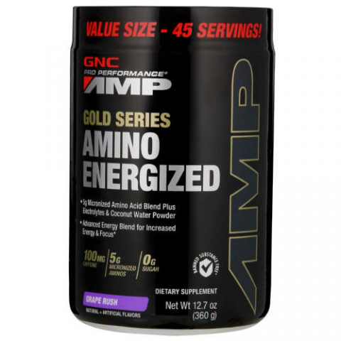 GNC - AMP Gold Series Amino Energized