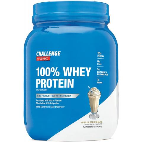 GNC - Challenge by GNC 100% Whey Protein