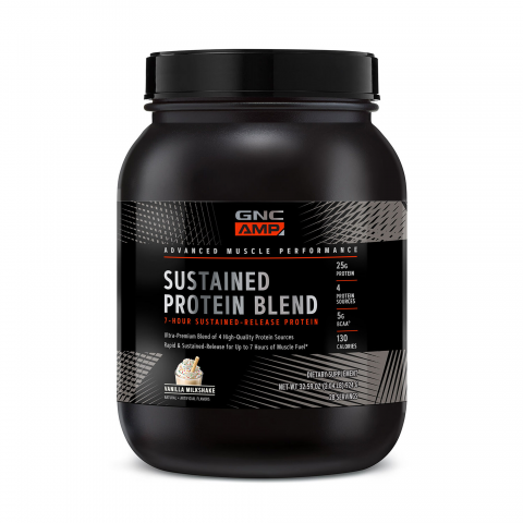 GNC - AMP Sustained Protein Blend