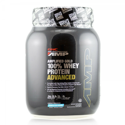 GNC - Pro Performance AMP Amplified Gold 100% Whey Protein Advanced