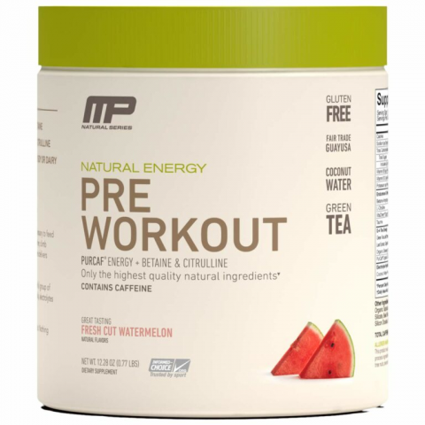 Musclepharm - PreWorkout Natural Energy