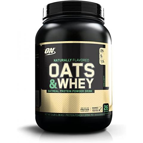 Optimum Nutrition - ON Naturally Flavored Oats and Whey (USA)